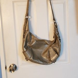 Super nice leather Kenneth Cole hobo bag.